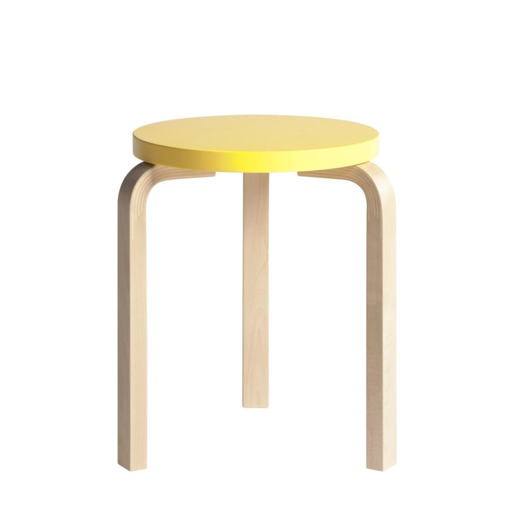 Scandinavian design Artek stool 60