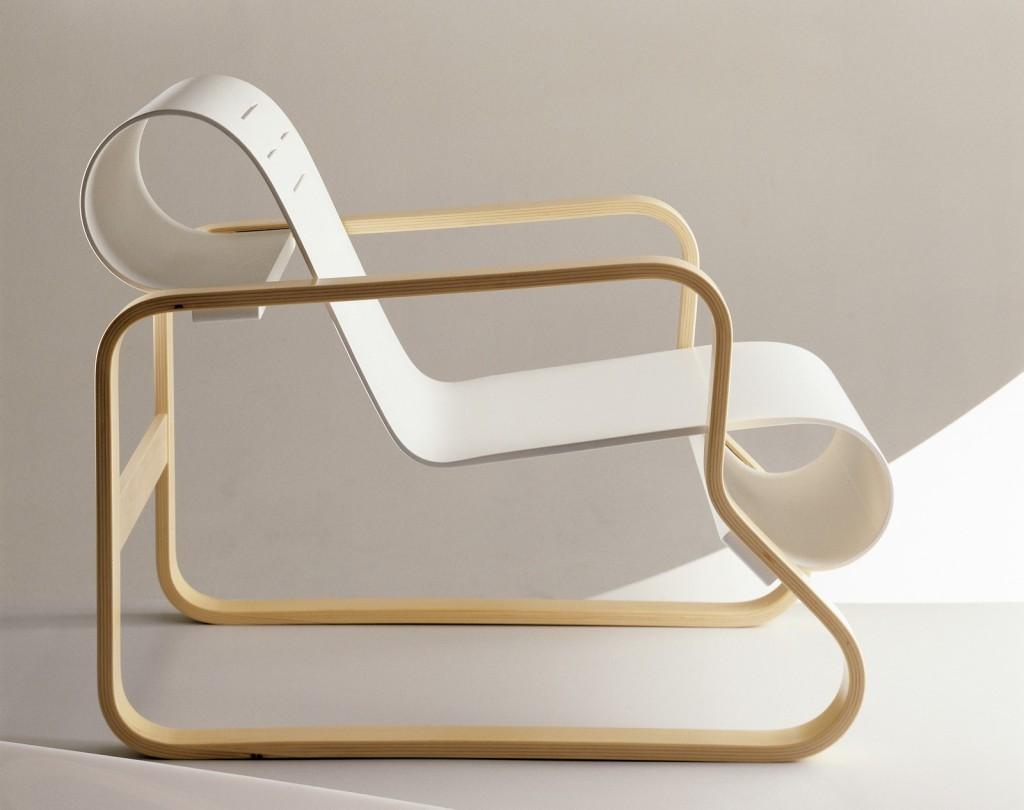 Scandinavian design Paimio chair by Aalto